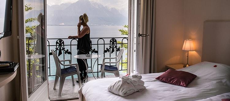 Réservation de chambres à l'hôtel Excelsior de Montreux